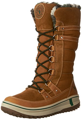 Santana Canada Women's Phoenix Tall Boot,Wheat Crazy Horse Leather/Suede,US 11 M by Santana Canada
