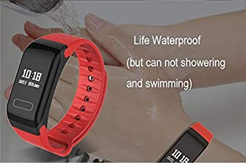 Amazon.com : F1 Fitness Activity Tracker Watches Blood Pressure ...