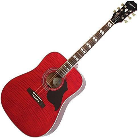Epiphone Hummingbird Artist - Guitarra acústica (mármol de arce ...