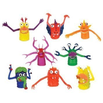 Accoutrements Finger Monsters (Set Of 8 In Each Order) by Accoutrements