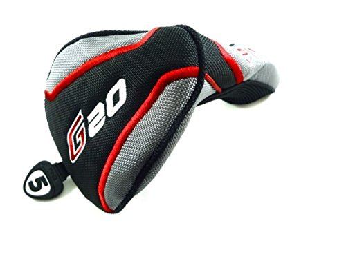 NEW PING G20 Fairway 5 Wood Silver/Black/Red Headcover G-20