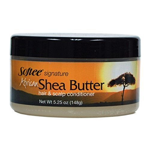 (Signature Shea Butter Hair and Scalp Conditioner, 5.25 Ounce)