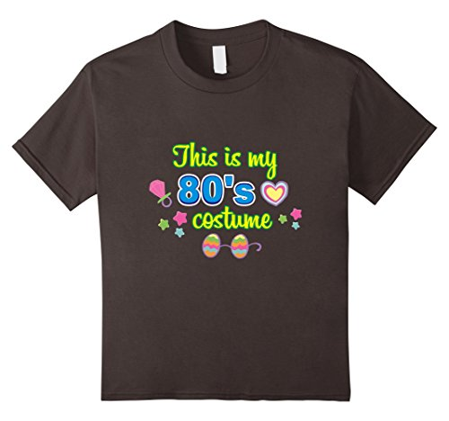 Halloween Minute For Last Quick Boys Costumes (Kids This Is My 80's Costume - Funny Halloween Costume T-Shirt 6)