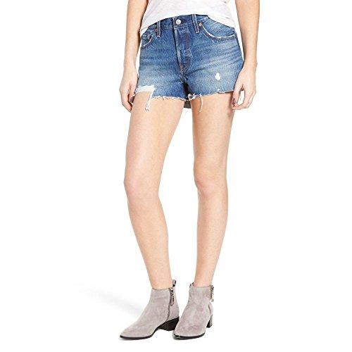 虐待救い雇った(リーバイス) LEVI'S レディース ボトムス?パンツ ショートパンツ 501 Cutoff Denim Shorts [並行輸入品]