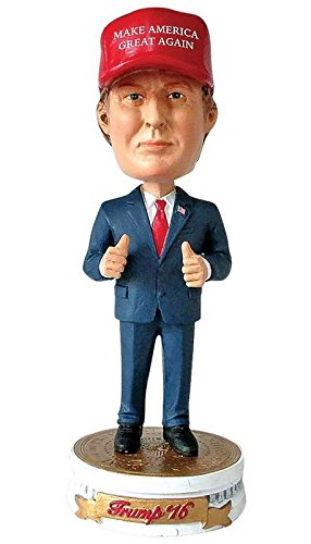PLAN P2 PROMOTIONS Donald Trump Bobblehead, Make America Great Again (Discontinued by manufacturer)