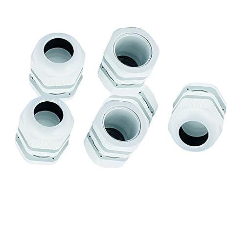 Amazon.com: 6pcs DealMux PG25 Modelo Branco Waterproof Gland cabo de ligação 16-21mm: Electronics