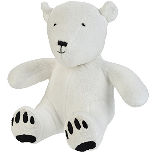 Under the Nile Unisex Baby Toy Artie the Polar Bear Stuffed Animal 8
