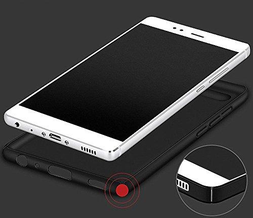 Huawei P10 Lite Funda Wouier® con Bumper Carcasa pulgadas Protective Case Anti-rasguños Estuche PC ultrafina Slim Protectora Caso de la Cubierta para P10 Lite Oro