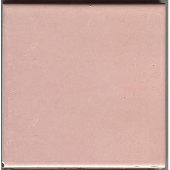 About 4x4 Ceramic Tile Pink Ice IR30 Iridescent Summitville Vintage   Sample L,