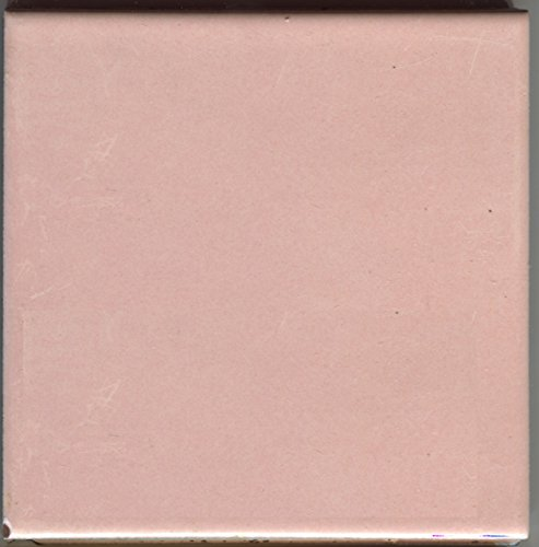 About 4x4 Ceramic Tile Pink Ice-IR30 Iridescent Summitville Vintage -Sample-L, Kitchen, Bathroom, Wall Tile, Ceramic Tile, Replacement,