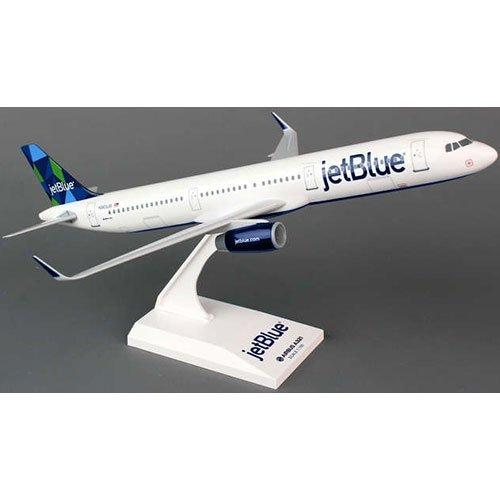 Daron Skymarks Skr778 Jetblue Airlines Airbus A321 1 150 Scale New Livery Prism Tail Display Model