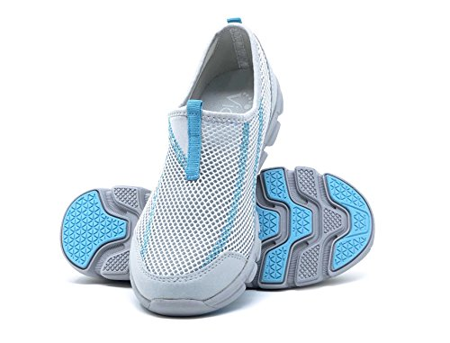 Water Teva Shoes (Viakix Water Shoes for Women – Ultra Comfort, Quality, Style – Swim, Pool, Aqua, Beach, Boat , Slate, 38 M EU / 8 B(M) US)