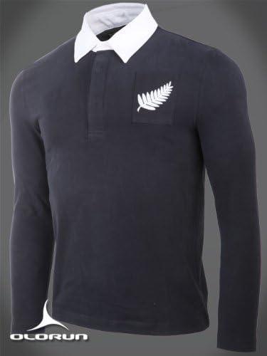 Época clásica camiseta de Rugby de Nueva Zelanda por auténticos Olorun tamaño 3XL 116,84 cm: Amazon.es: Deportes y aire libre