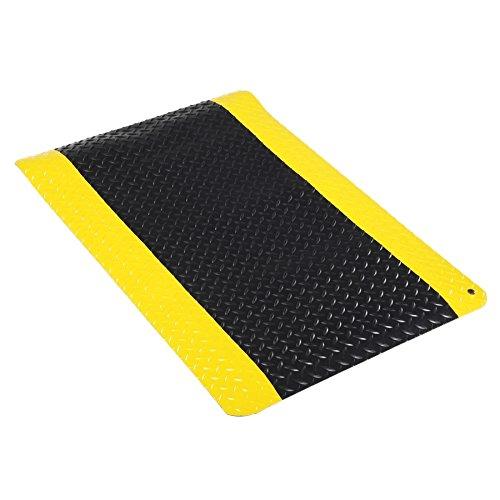 Industrial Deck-Plate Anti-Fatigue Mat - FLM447-BK