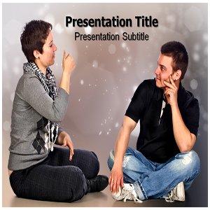 Amazon com: Non Verbal Communication PowerPoint Template