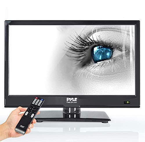 Pyle 15.6-Inch 1080p LED TV   Ultra HD TV   LED Hi Res Widescreen Monitor with HDMI Cable RCA Input   LED TV Monitor…