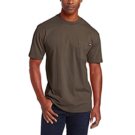 Fashion Shopping Dickies Men's Heavyweight Crew Neck Short Sleeve Tee Big-Tall
