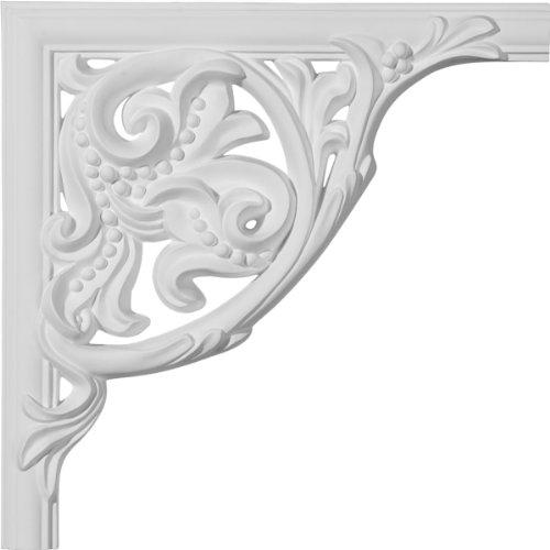 Ekena Millwork PML10X10OX Oxford Panel Molding Corner 10 X 10 x1 1//8