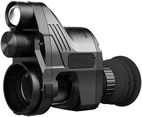 ohhunt Pard NV007 4X Sight Aiming Modified Infrared Monocular Night Vision Tactical Riflescope Cameras WiFi Day and Night Use Hunting,Hiking