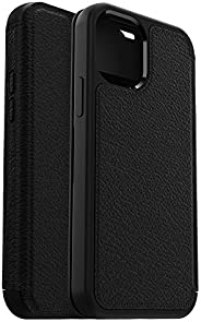 OtterBox Strada Series Case for iPhone 12 & iPhone 12 Pro - Shadow (Black/Pewter) (77-65