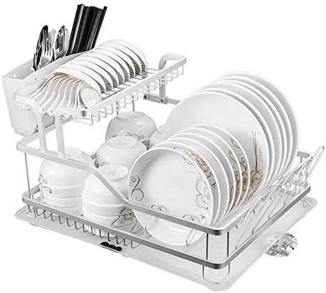 ホームキッチンツールガジェットキッチンシェルフパーティション食器洗い機シンクドレインアルミ合金大容量収納ラック食器用品収納ラック