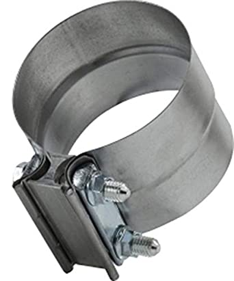 76mm Band width 0.7mm Band Thickness 4 4 Midland Metal Aluminized Steel Midland 846-400 Aluminized Steel Lap Clamp Size