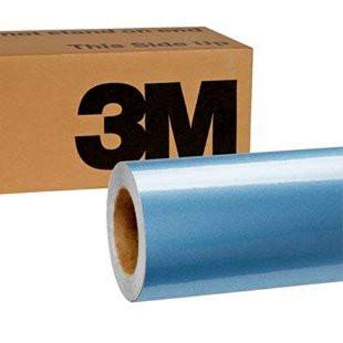 3M 1080 Gloss Ice Blue | G247 | Vinyl CAR WRAP Film (5ft x 1ft (5 Sq/ft)) w/Free-Style-It Pro-Wrapping Glove