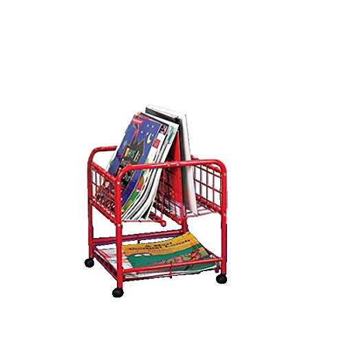 Childcraft Metal Big Book Mobile Browser Including 3 Shelves, 22