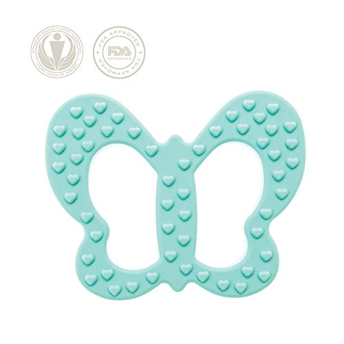 Lil' Teethers Baby Teething Toys. Bendable & Freezer friendly. Highly Recommended by Moms. 100% Silicone (similar to nipples & pacifiers), BPA & Phthalates Free, FDA Compliant. (Toy Story Girl Name)