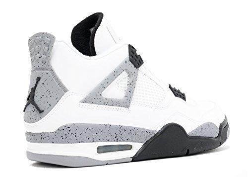 Nike Air Jordan 4 Retro 'blanco Comunicado De Cemento 2012' - 308497-103 - Nosotros El Tamaño Vista de venta Envío gratis a estrenar Unisex kYKvQ83