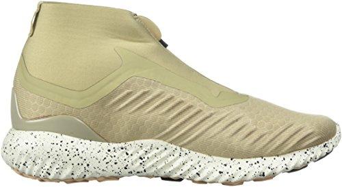 Adidas Originali Mens Alphabounce Zip M Scarpa Da Corsa Marrone Chiaro / Legacy / Nobile Rosso