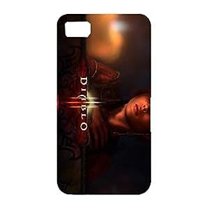 Diablo Vivid Character Poster Hard Protective Case for Blackberry Z10