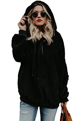Meow Meow Lace Women's Fleece Hooded Long Sleeve Sweatshirt Warm 1/4 Zip Hoodie Pullover Black 2XL