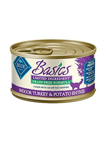 Blue Buffalo Basics Grain-Free Indoor Turkey & Potato Entree
