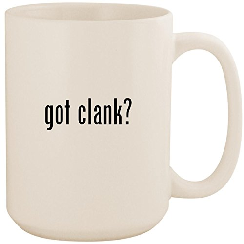 got clank? - White 15oz Ceramic Coffee Mug Cup (Ratchet And Clank Future Into The Nexus)