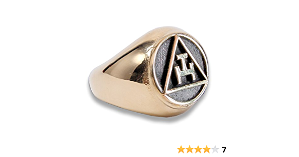 Details about  /Masonic Sterling silver ring All sizes AASR Blue lodge,York rite Freemasonry