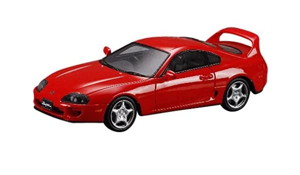 Amazon.com: Hobby Japan MARK43 1/43 Toyota Supra 3000 twin-cam 24 2way twin turbo RZ (JZA80) Super Red IV finished product: Toys & Games