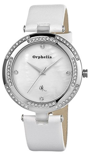 Orphelia OR22170311 - Women's Watch, Leather, White Color