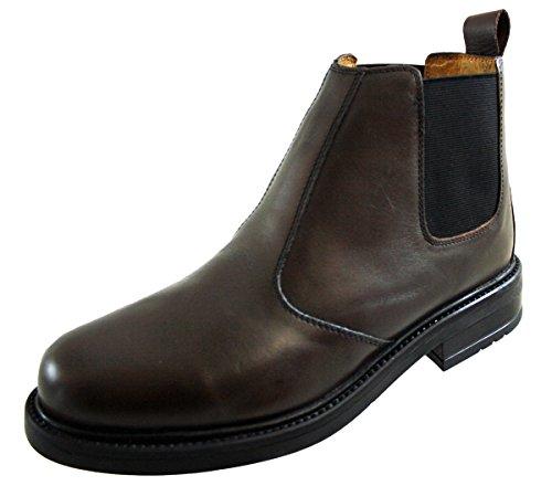 Roamer ,  Herren Chelsea-Schuhe Brown Detail