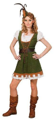 Vestido para disfraz de Robin Miss Carnaval como guerrera de ...