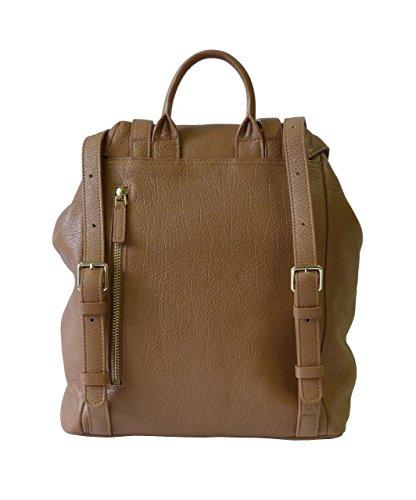 Lancaster - Bolso mochila  para mujer marrón marrón claro