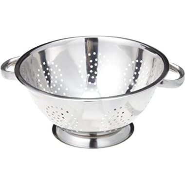 ExcelSteel 242 5-Quart Stainless Steel Colander