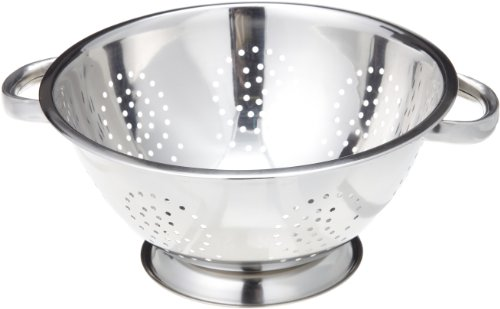 ExcelSteel 242 5-Quart Stainless Steel - Colander Polished Stainless