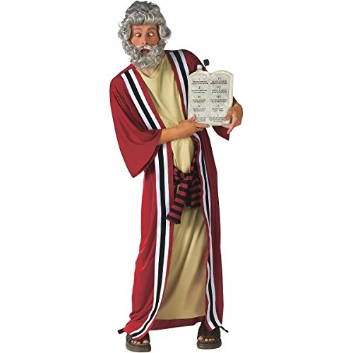 [GSG Moses & the 10 Commandments of Party Funny Whacky Drink Dispenser Costume] (Moses Costume Ten Commandments)