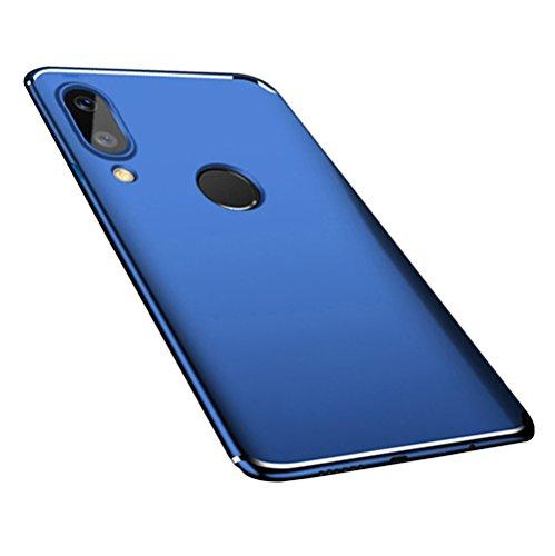 Étui Pc Rigide Bleu Lite Cover Protection Lite Case P20 Bleu scratch huawei Adamark Shell Ultra Slim Anti Huawei Récurer Housse Coque Pour Bumper Antichoc Back aqZxAx4T