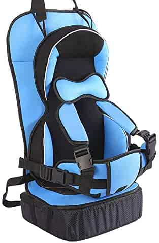 Baby Portable Car Seat Cushion Child Safety Seat Kid Simple Dining Chair Small/Big Size Optional