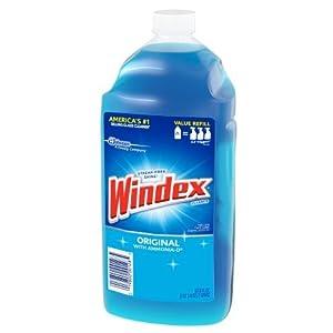 Windex Original Glass Cleaner Refill 67.6 Ounces (2 Liter) (1)