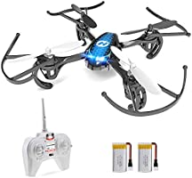 Holy Stone Mini Drone for Kids & Adults, RC Nano Quadcopter HS170 with 2 Batteries, Altitude Hold, Headless Mode, 3D...