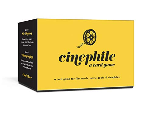 Cinephile: A Card Game (Art Game Cards)