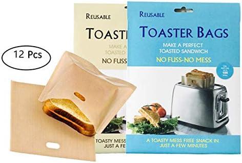 Bolsas de tostadora antiadherentes reutilizables y ...